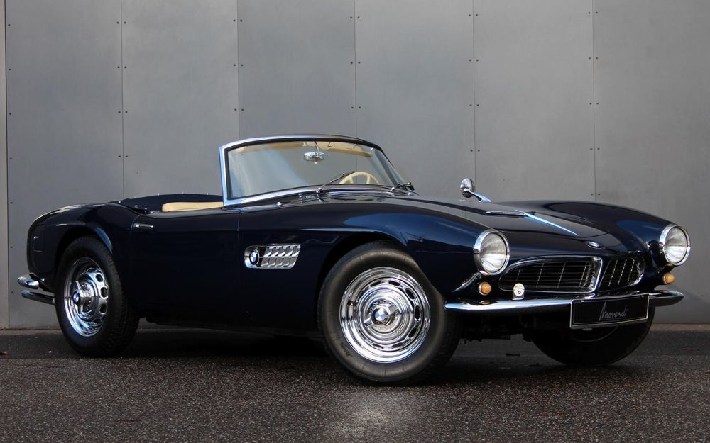 Vintage car for sale Nr. 223 from only 252 examples built- Delivered new to  Germany- Fully restored in the early …   Vintage cars for sale, Bmw 507,  Cars for sale