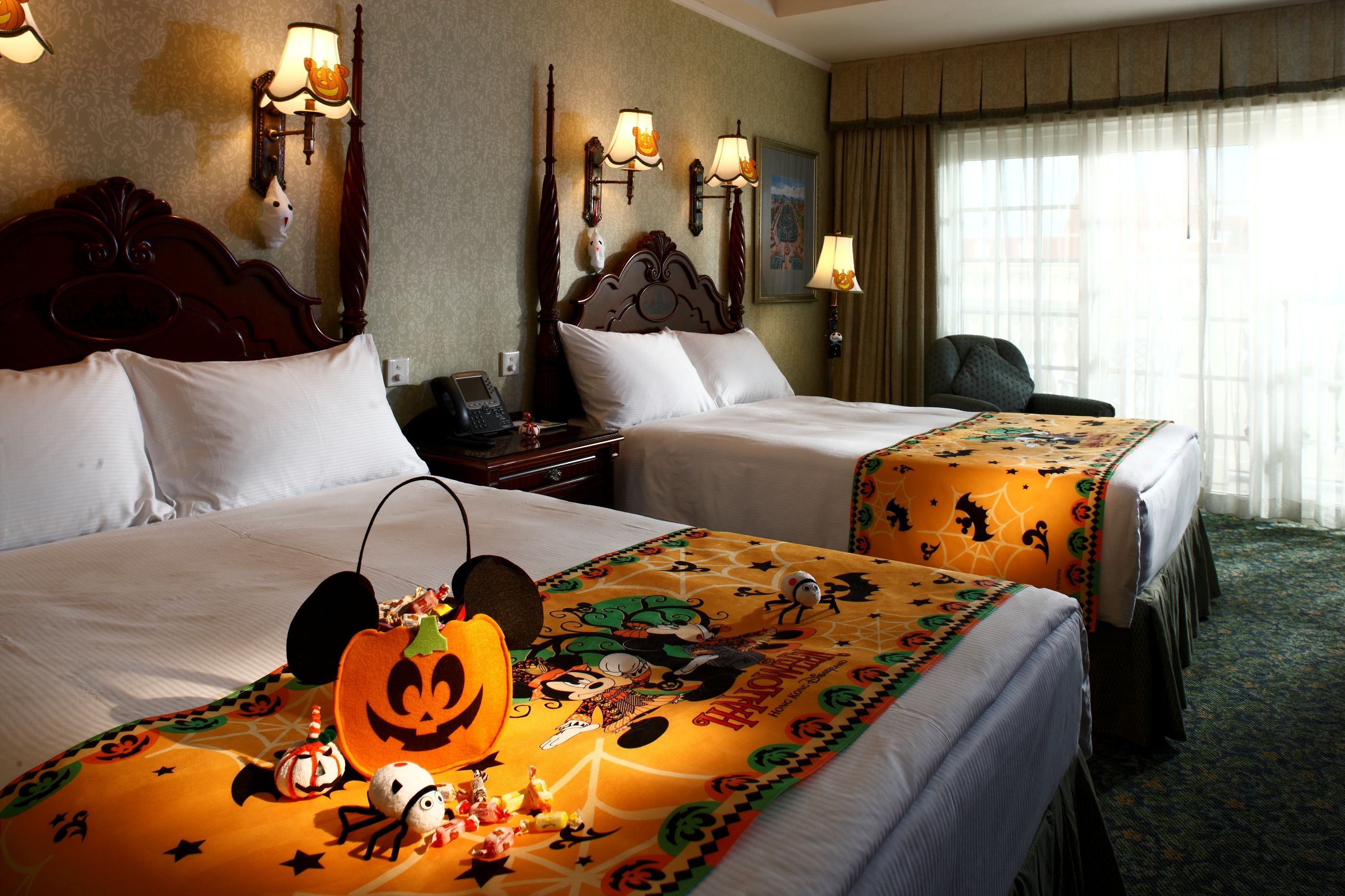 Omg Halloween Blanket & Treat Bag