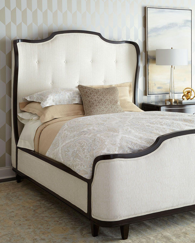Bernhardt Criteria Metal Trim Upholstered King Bed in 2020