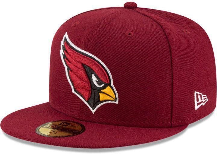 New Era Arizona Cardinals Team Basic 59fifty Fitted Cap Fitted Hats Fitted Caps New Era