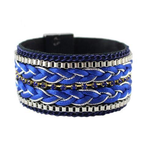Blue Tibetan Bracelet