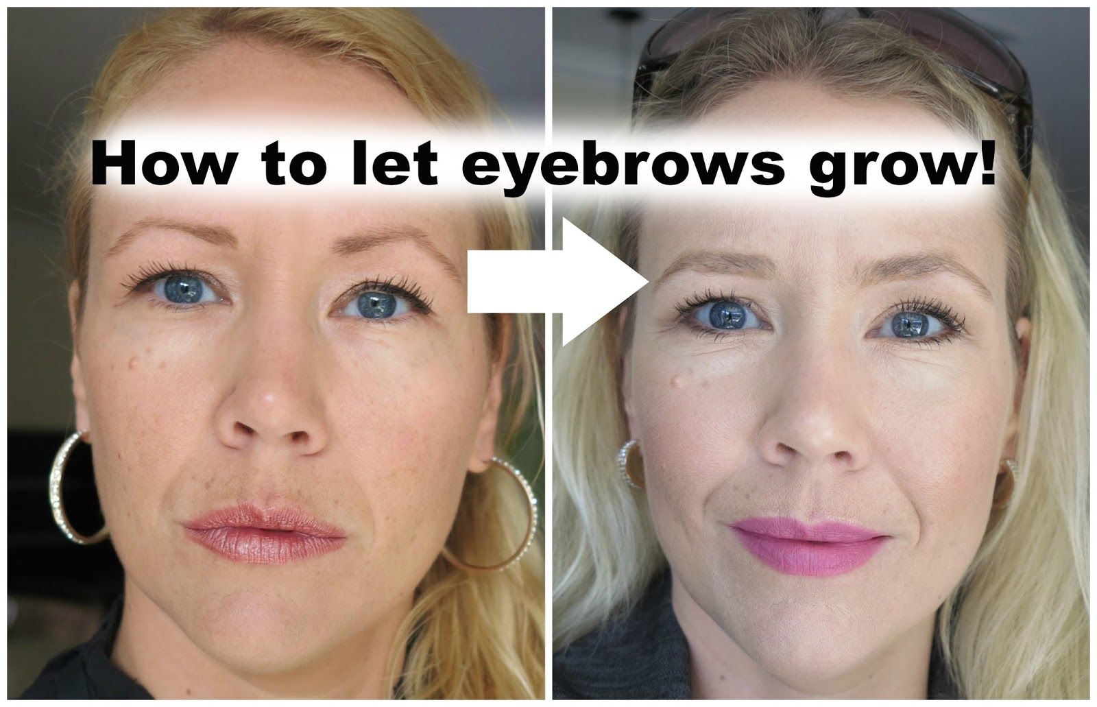 How To Let Your Eyebrows Grow Back Beauty How To Grow Eyebrows