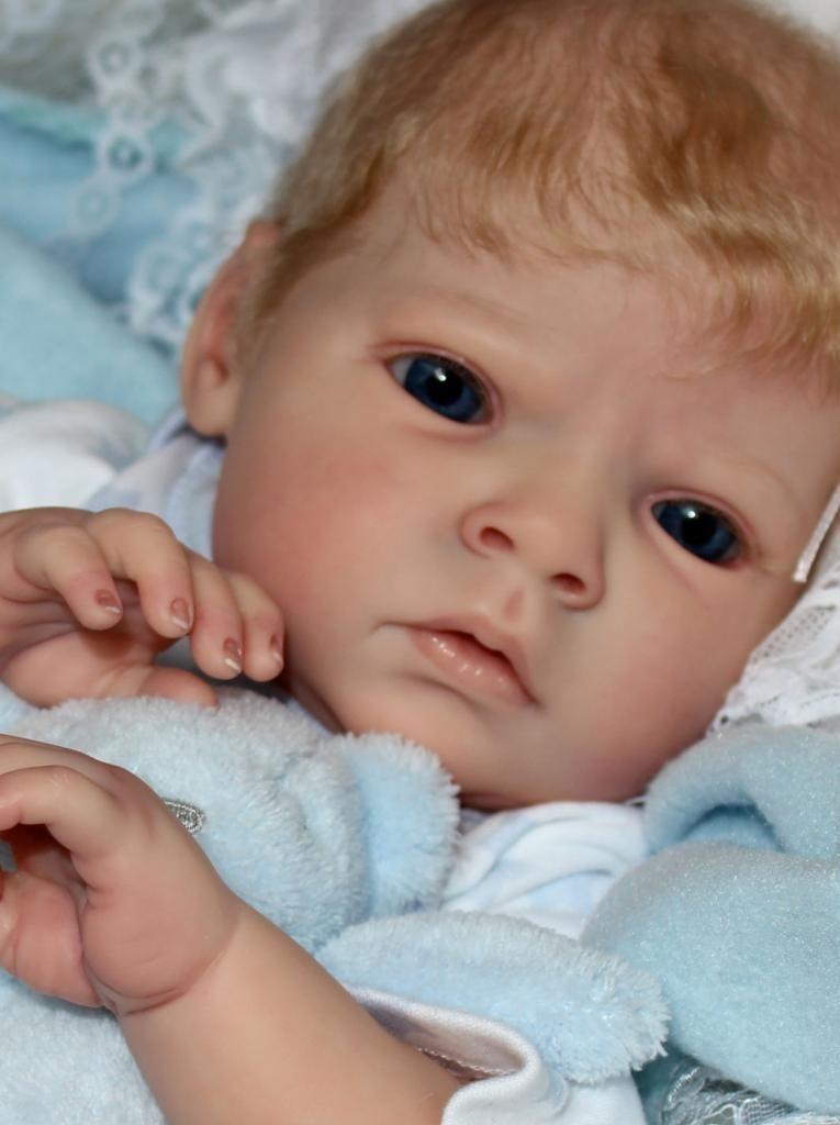 Sabrina Reva Schick Flutterby Hearts Reborns Blue Eyes Beautiful