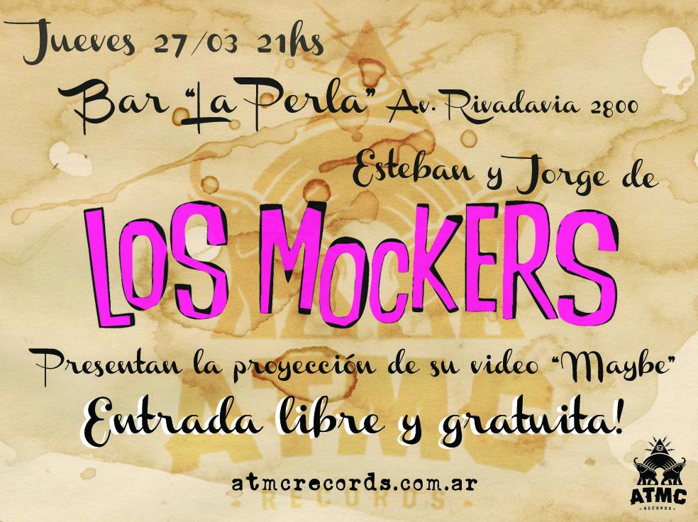 Jueves 27 de Marzo Jorge & Esteban Mocker muntos en el Bar La Perla