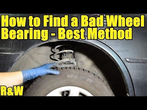 bearing youtube. how to find a bad wheel bearing - plus replace hub youtube e