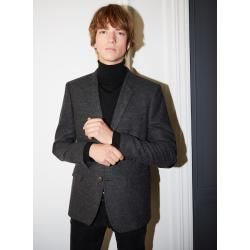 Photo of The Kooples – Blazer aus schwarzer Wolle mit Chevron-Muster – Damenthekooples.com