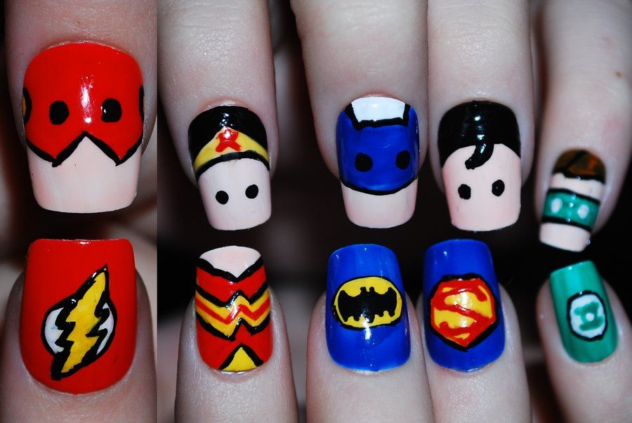 Queen+of+the+Sea | Justice league super hero nail polish | Pinterest ...