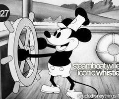 I've never even seen Steamboat Willie and I know this
