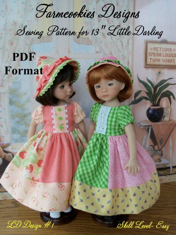 PDF Sewing Pattern for Dianna Effner 13 by LittleDarlingDuds ...