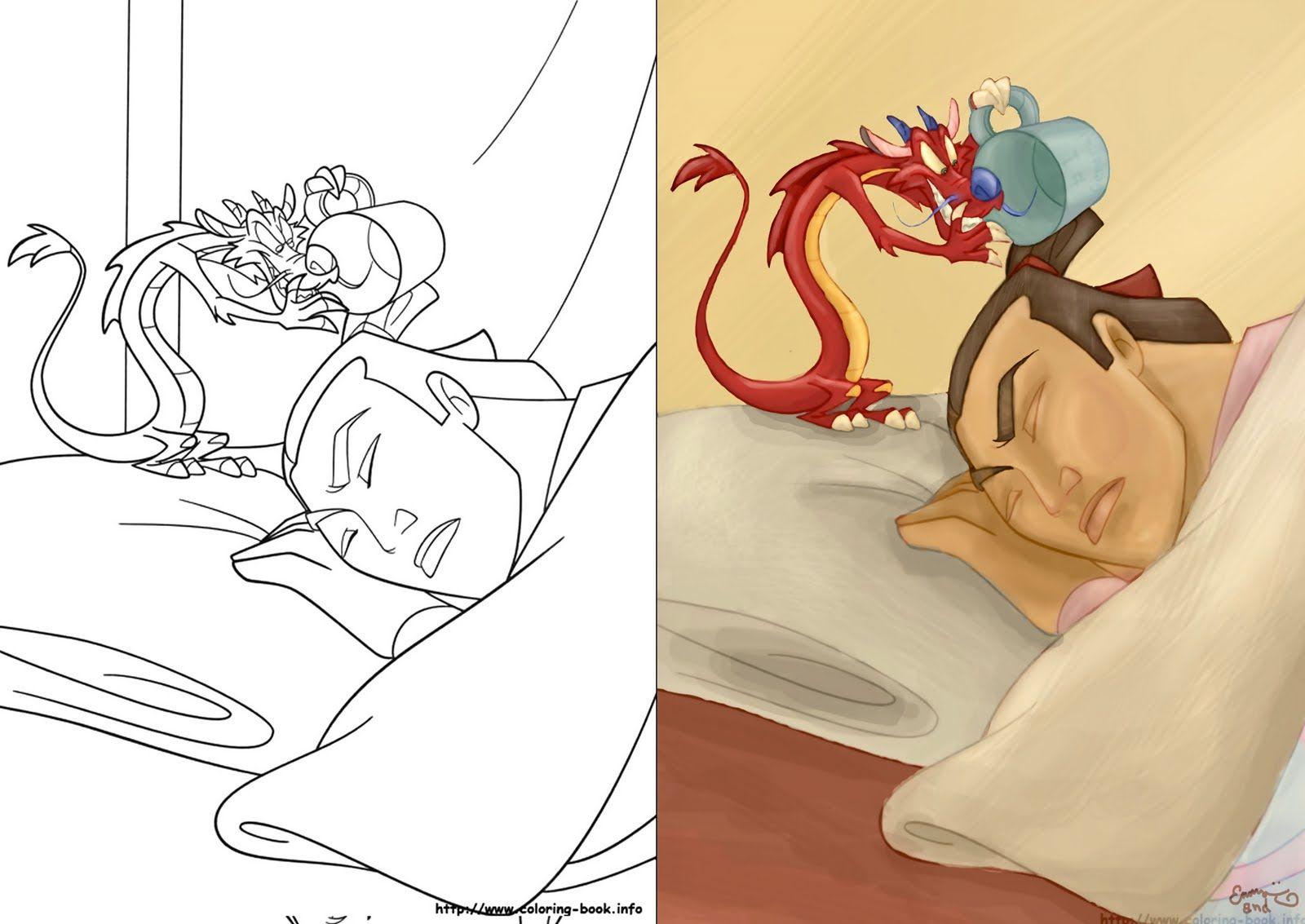 Mulan deviantart mulan coloring book bloodhaunt mulan