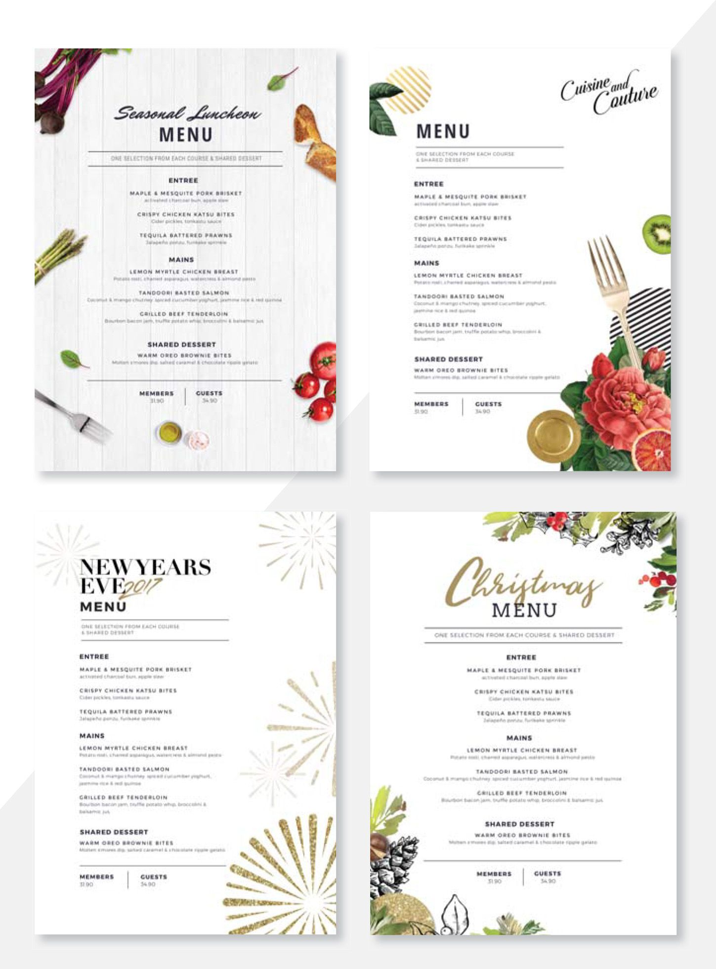 Create Menus with Easil\'s Menu Maker - Why you Need to Kiss Your ...