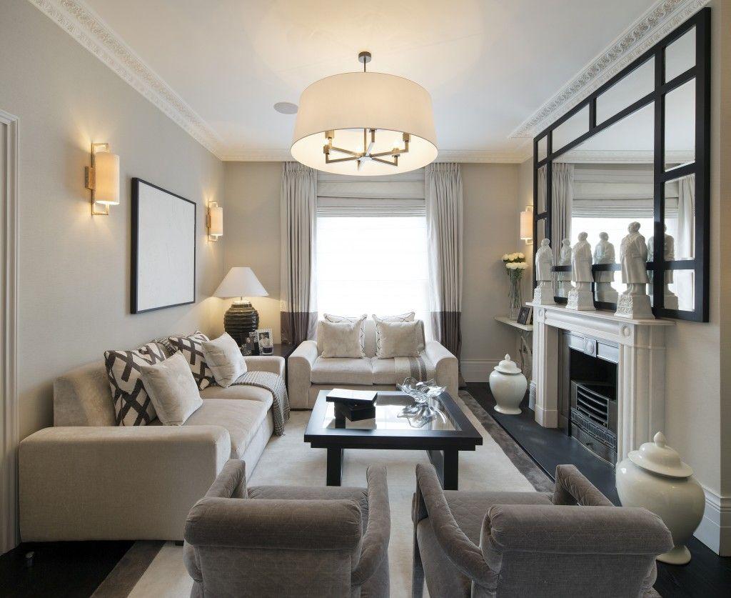 Long living room decor  Decor  Narrow living room