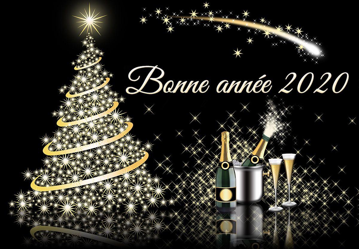 carte virtuelle bonne année 2020 Une jolie carte virtuelle | Bonne année, Message bonne année