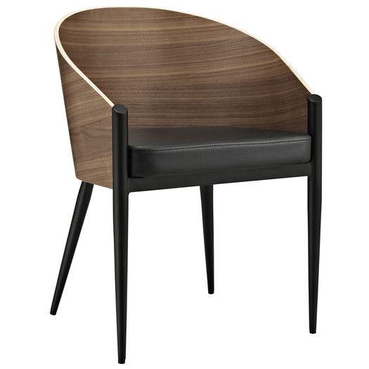 all modern leather dining chairs king kong folding chair modway cooper arm allmodern a besthollandapartment