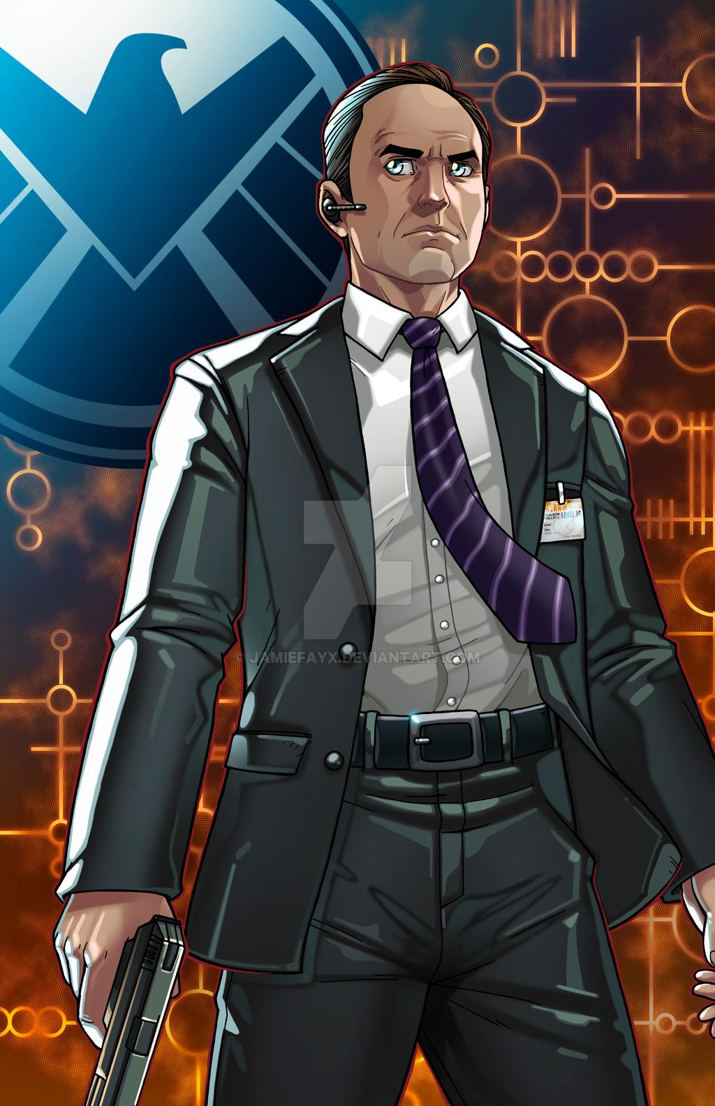 Agent coulson director of shield by jamiefayx
