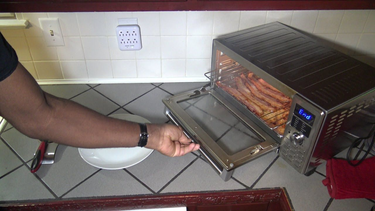Do Not Cook Bacon in the NuWave Bravo XL Smart Oven, Air