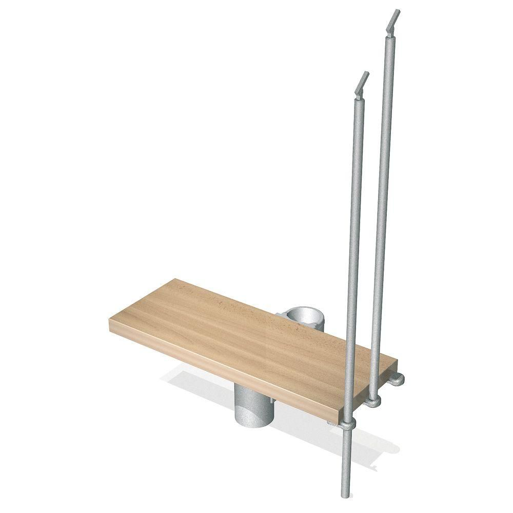 Best Arke Kompact 29 In Grey Modular Staircase Add Riser 400 x 300
