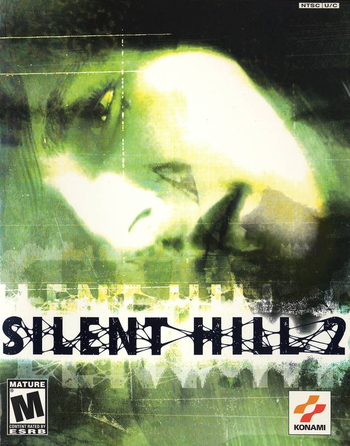 Http Static Tvtropes Org Pmwiki Pub Images Sh2cover Png Silent Hill Silent Hill 2 Silent Hill 2 Ps2