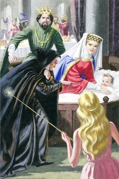 sleeping beauty evil fairy pictures for children - Google ...