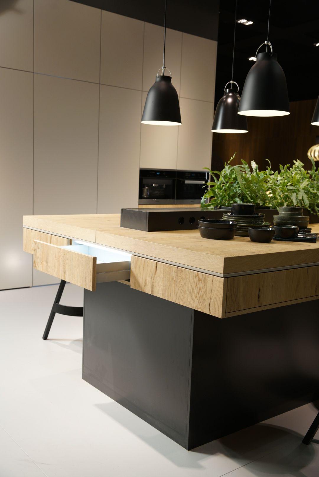 Stand LEICHT Modell Madero Moderne küchendesigns
