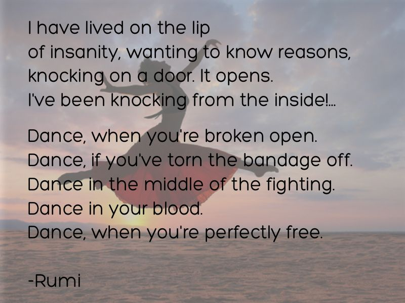 Pin by Hannah Siegle on Quotes | Rumi quotes, Rumi love ...