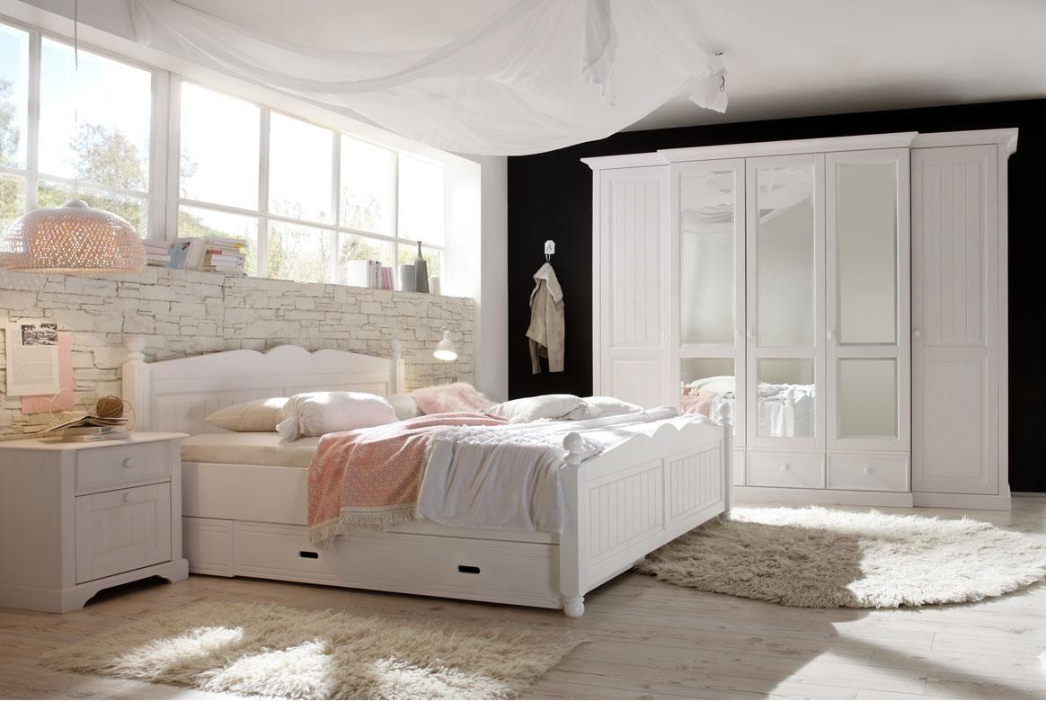 Tolle Schlafzimmer Komplett Landhausstil Weiss Landhaus