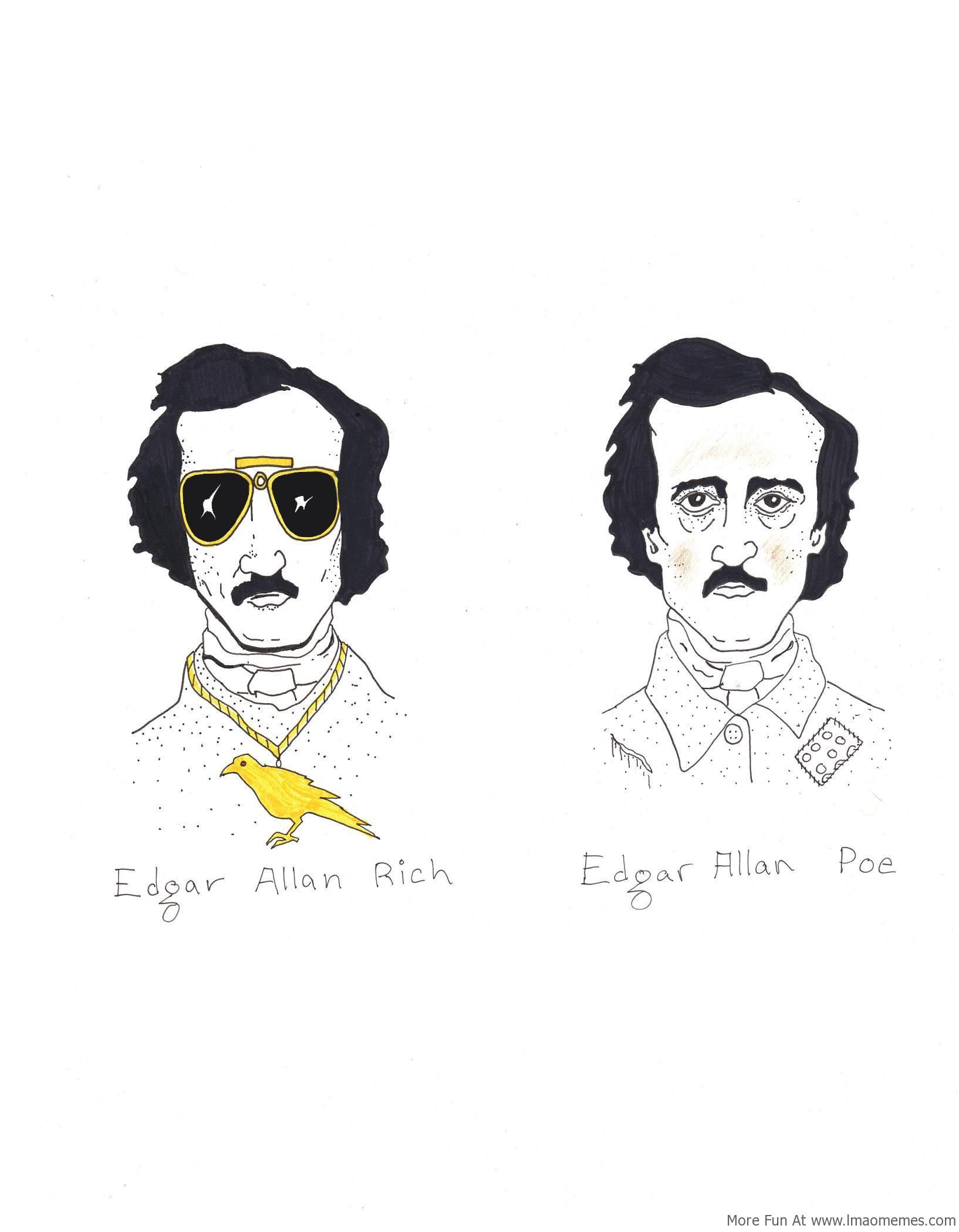 Edger Allan Rich and Poe! (With images) Literature