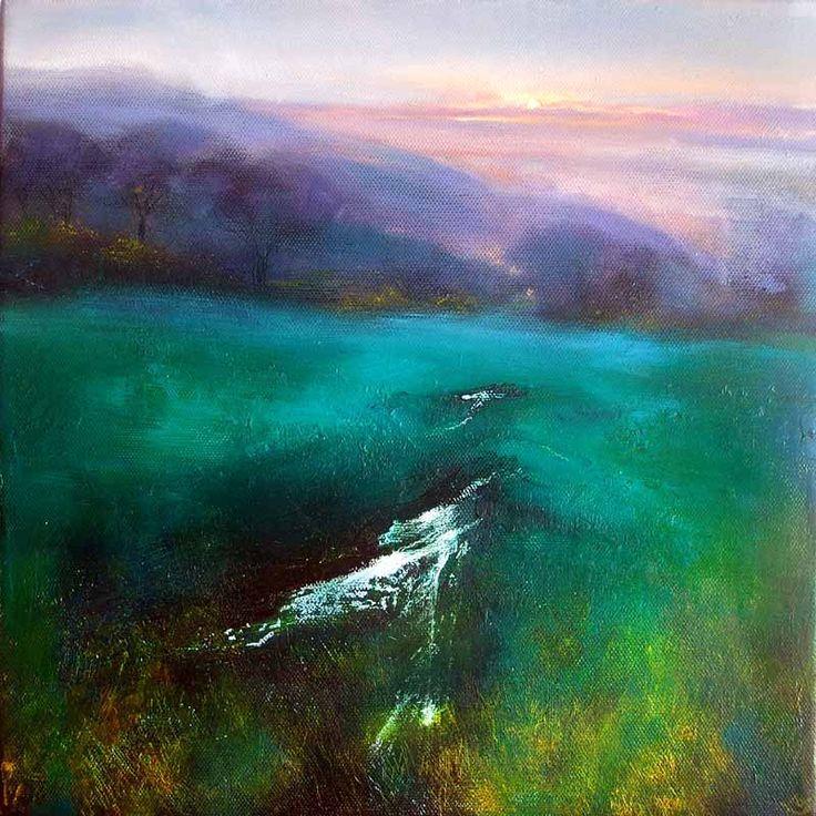 After the Rain 245 Abstract landscape, Landscape