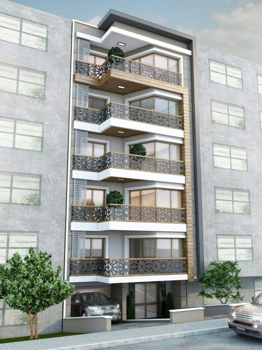 Modern Apartment Architecture Design 2017
