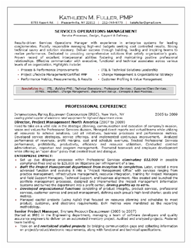 professional mid level resume sample 1