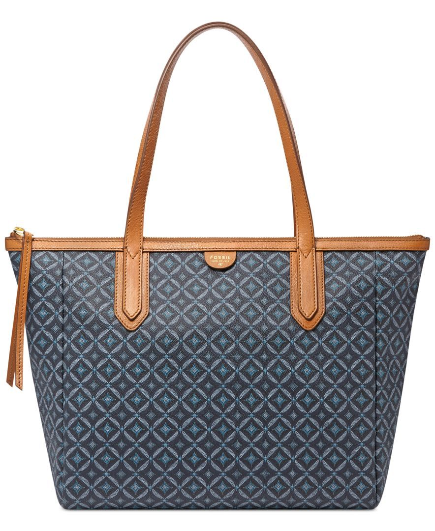 Fossil Sydney Per Handbags Accessories Macy S