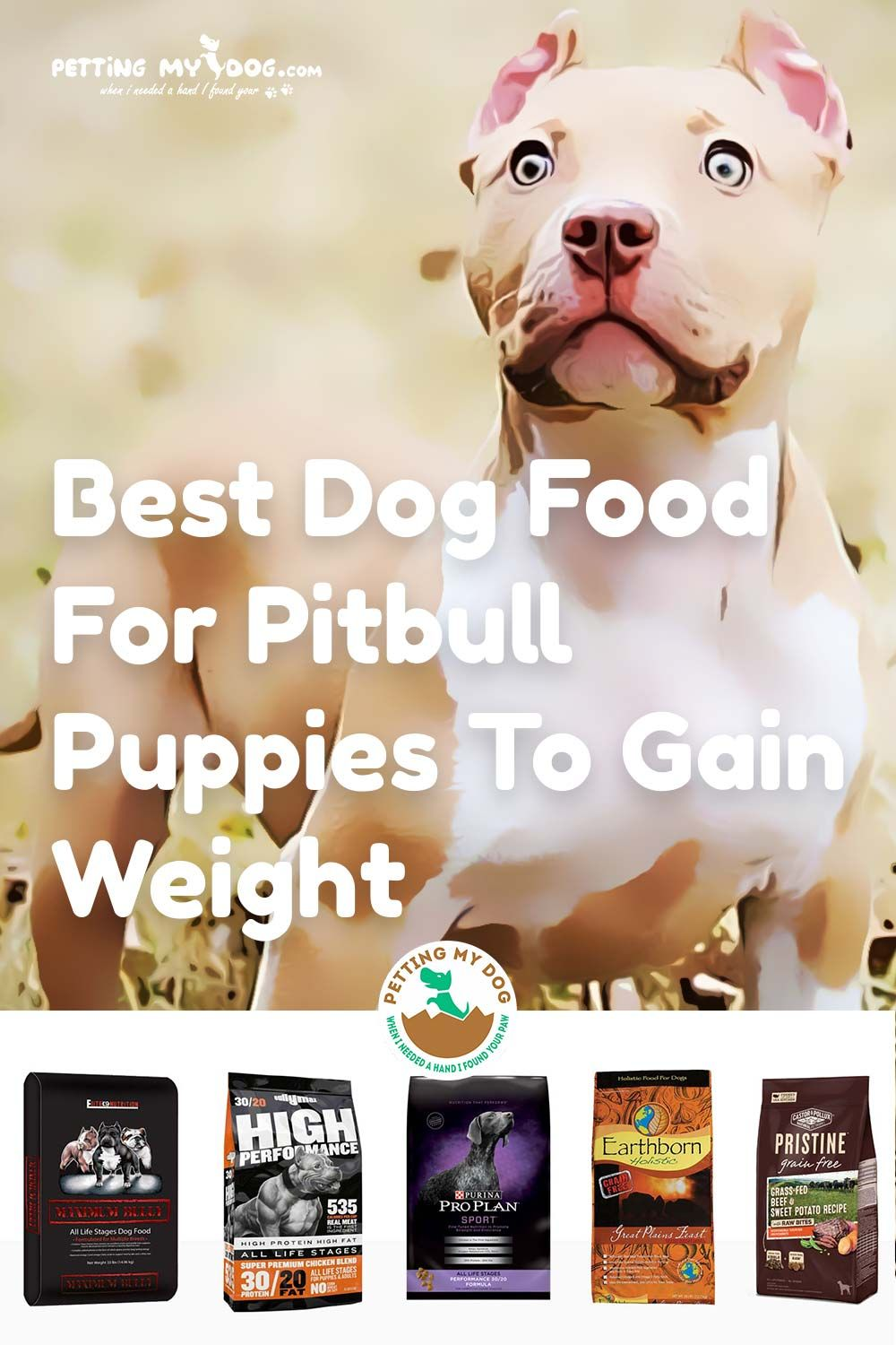 Best Dog Food For Pitbull Puppies To Gain Weight Pitbulls Pitbull Puppies Best Dog Food
