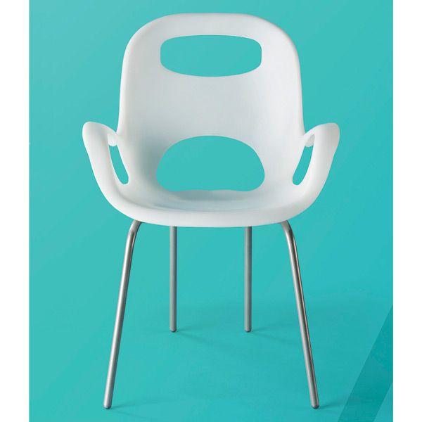 White Oh! Chair By Karim Rashid For Umbra®   $39.99