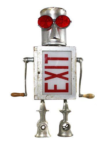 Exit II by nerdbots, via Flickr