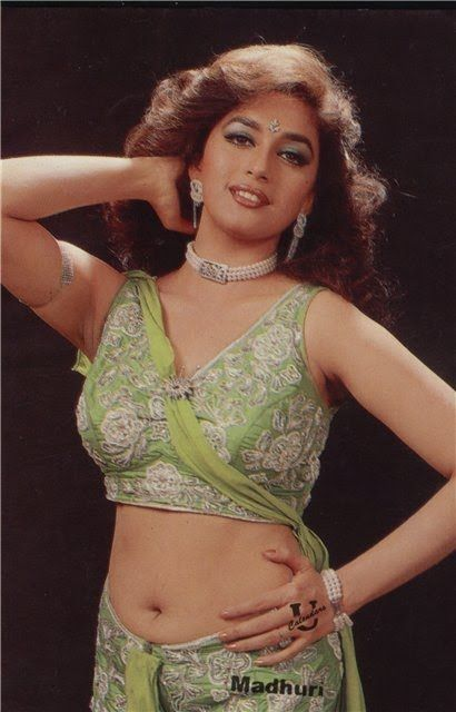 60 Rare, Young And Hot Images Of Madhuri Dixit  Young -3287