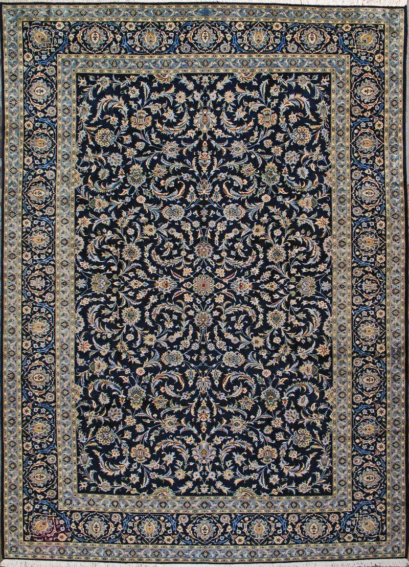 Buy Kashan Persian Rug 9 39 6 Quot X 13 39 0 Quot Authentic Kashan Handmade Rug Rugs Persian Rug Kashan Rug
