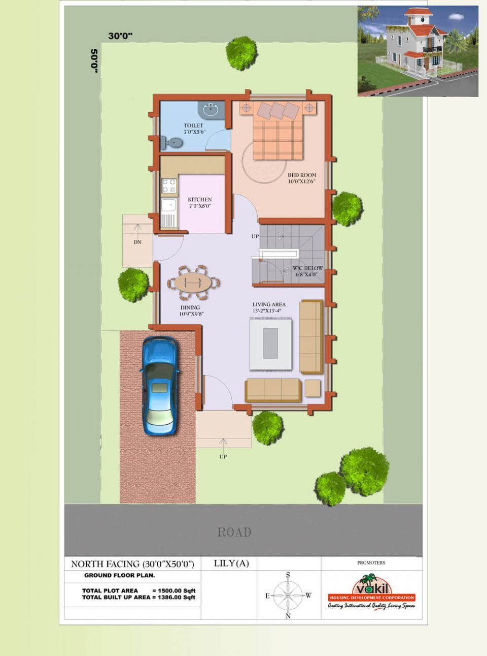 Beautiful Modern House In Tamilnadu Kerala Home Design And Floor Duplex House Plans Tamilnadu House Plans In Ta Vastu House House Plans With Photos House Plans