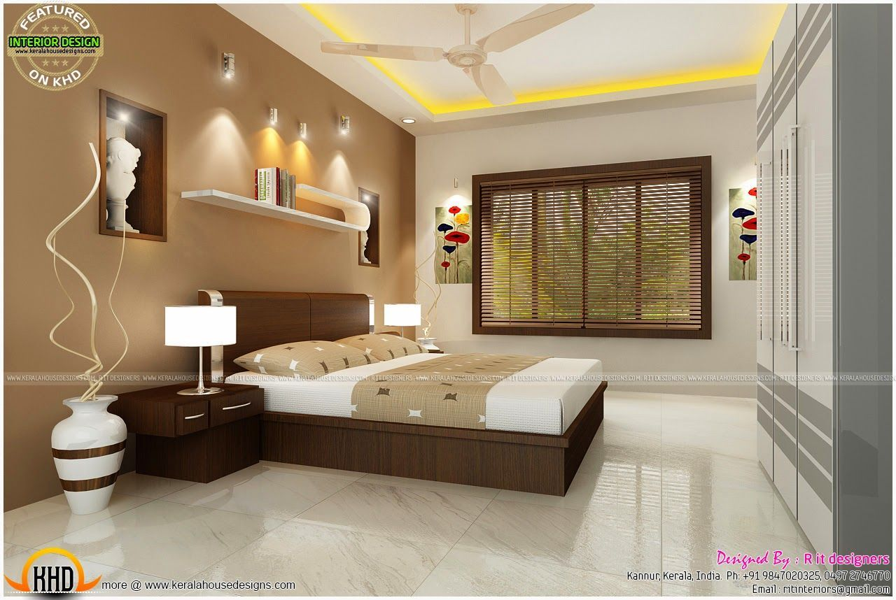 We Ve Gathered Our Favorite Ideas For Bedroom Interior Design With Cost Kerala Home Design A In 2020 Modern Bedroom Design Small House Interior Design Bedroom Interior