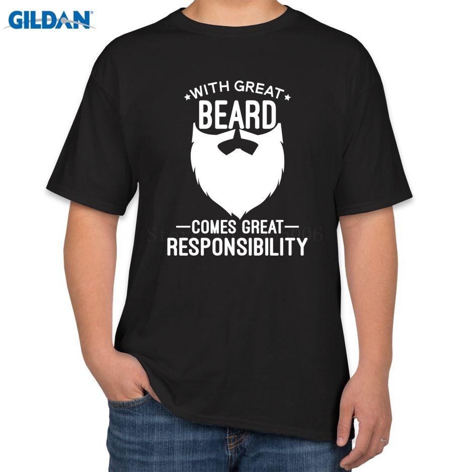 Click to Buy    With Great Beard Mens Fashion 2017 Comfortable Short  Sleeve.    b7e7006cbeae