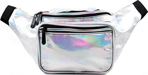 04699cace339 Holographic Silver Fanny Pack in 2019 | Get in My Closet | Waist ...