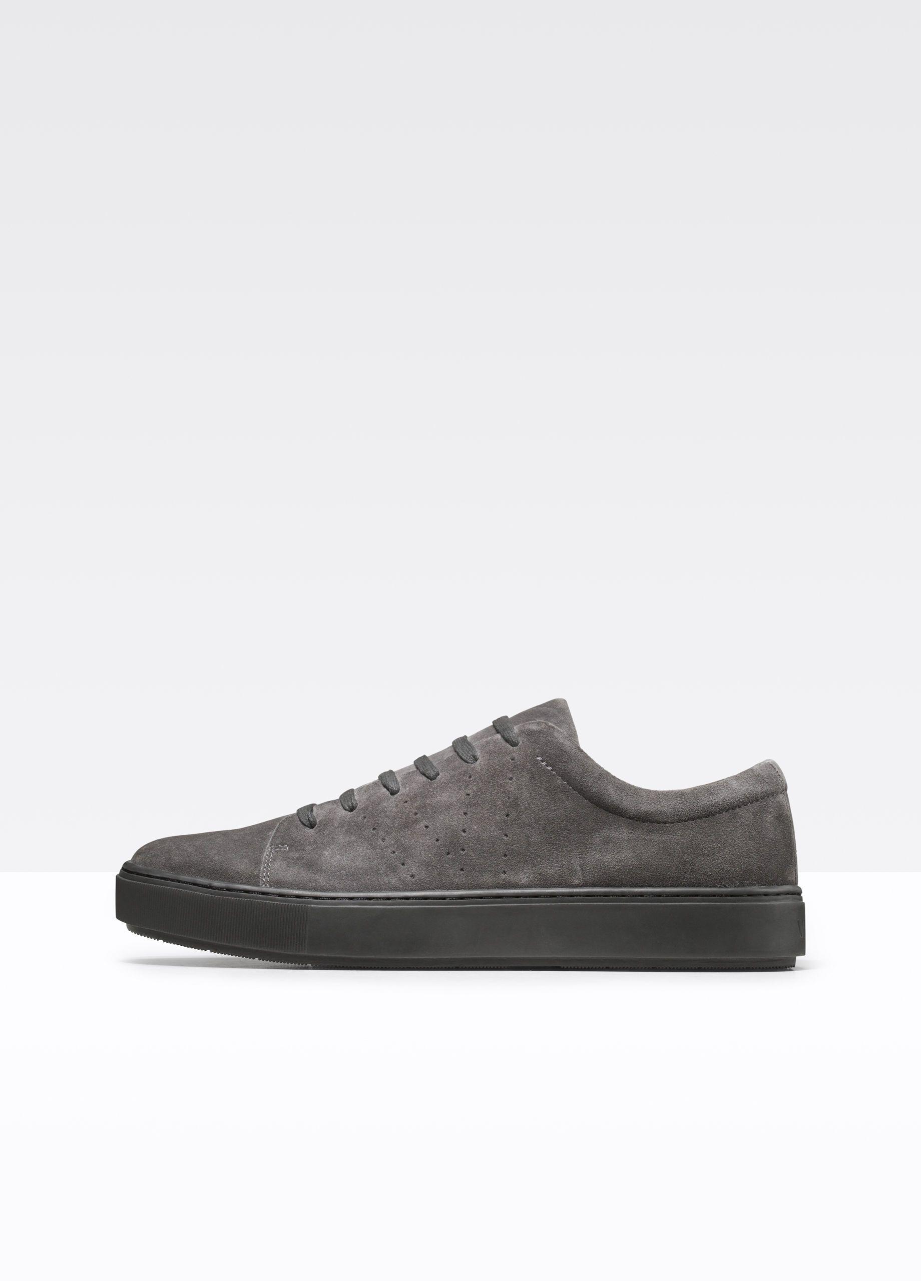 Luke Sport Suede Sneaker For Men Vince Mens Designer Shoes Sneakers All Black Sneakers