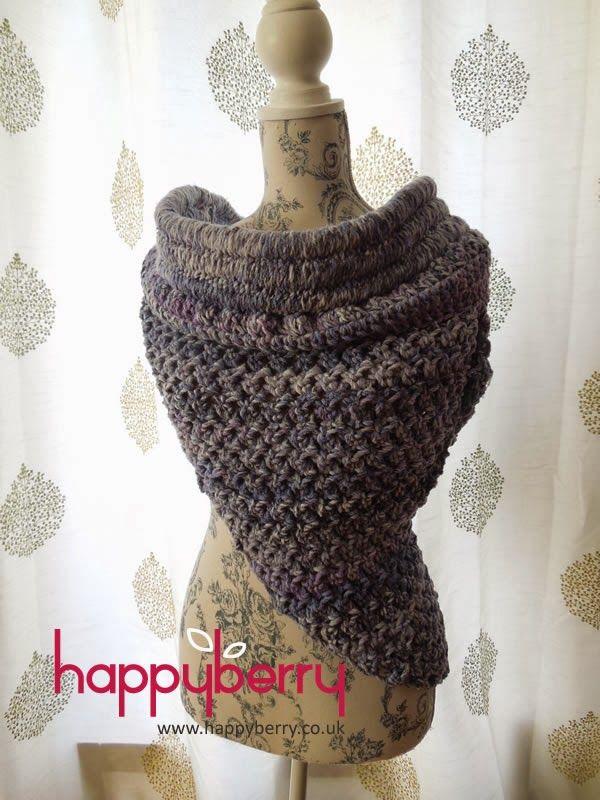 Katniss-Inspired Solomon Cowl - Free crochet pattern. This cowl uses ...