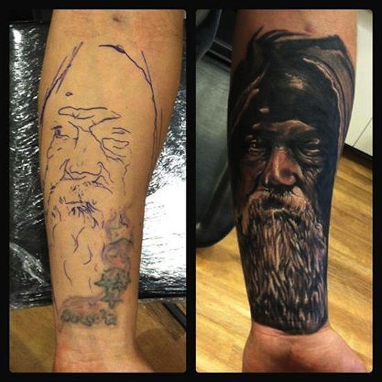 leg cover up tattoos egodesigns tattoos pinterest
