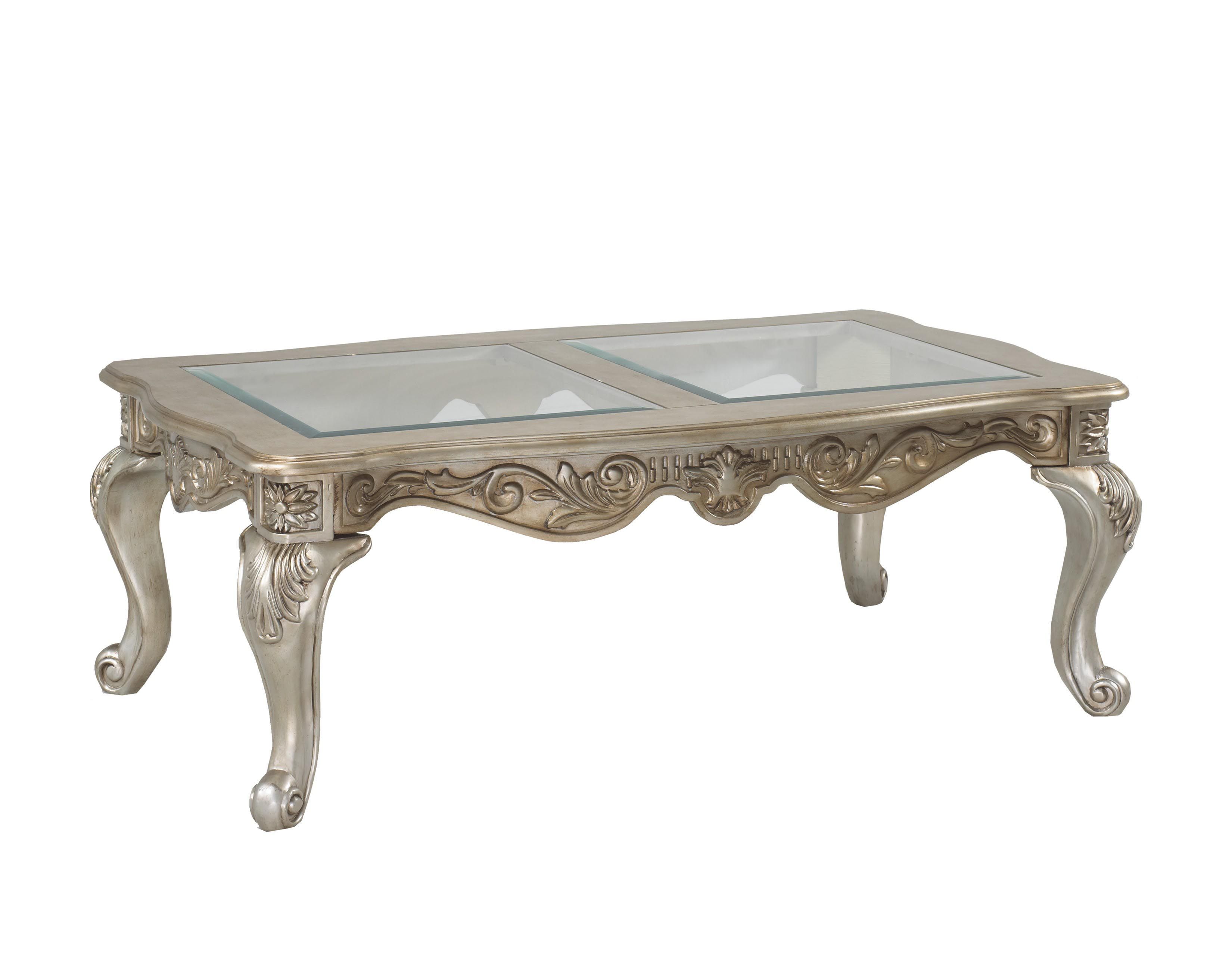 Antique Silver Coffee Table Moveis