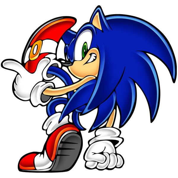 Sonic Posing Sonic Adventure Sonic Sonic The Hedgehog Hedgehog