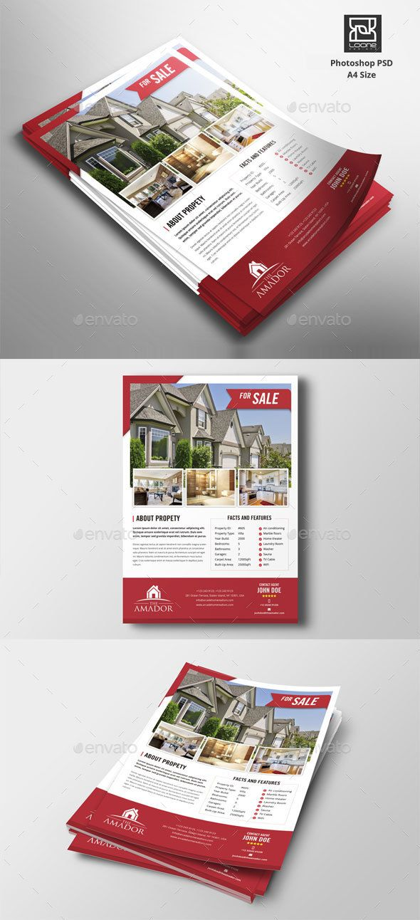 real estate flyer referências design pinterest real estate