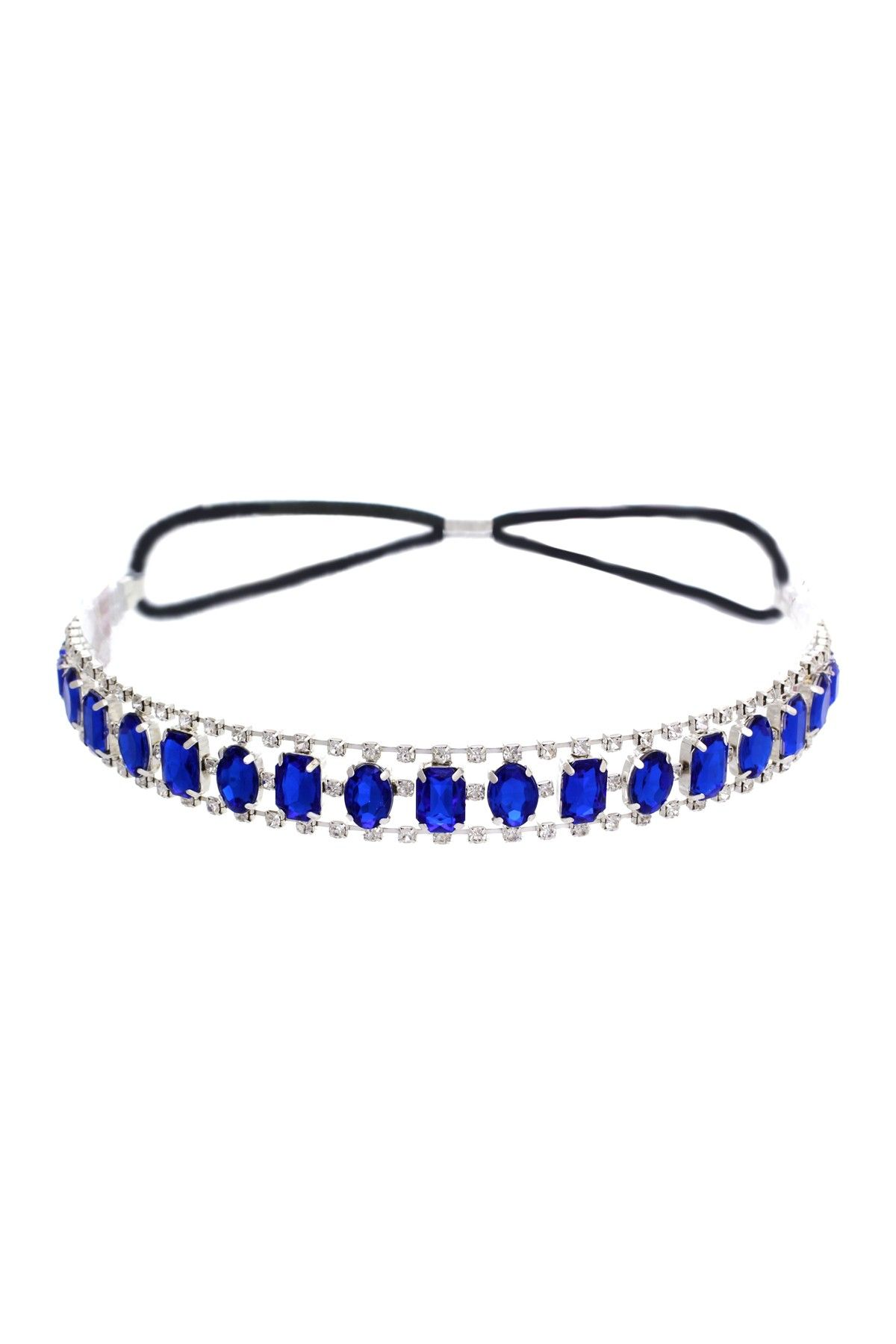 Crystal Trimmed Jewel Headband