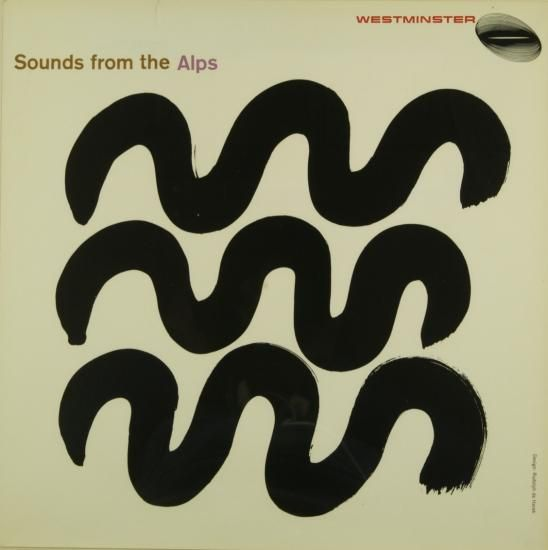 Sounds from the Alps record cover by Rudolph de Harak
