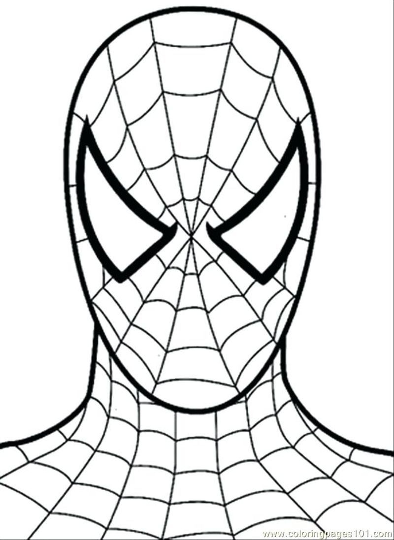 Spiderman Happy Birthday Coloring Pages Buku Mewarnai Spiderman Ide Menggambar