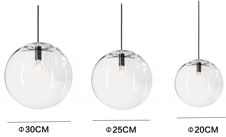Glass Bubble Lamp Shade Pendant Ceiling Light In 2020 Bubble